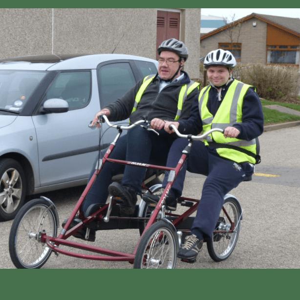 Willowbank Tandem Bike Fund - Peterhead
