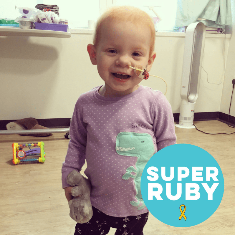 Raising For Super Ruby - David George