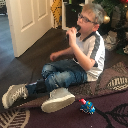 Albie Aims for a Brighter Future - Just 4 Children