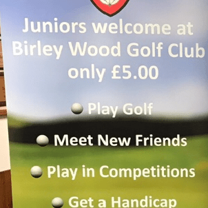 Birley Wood Golf Club Juniors  cause logo