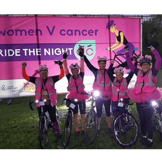 Women v Cancer Ride The Night London 2019 - Denise Barratt