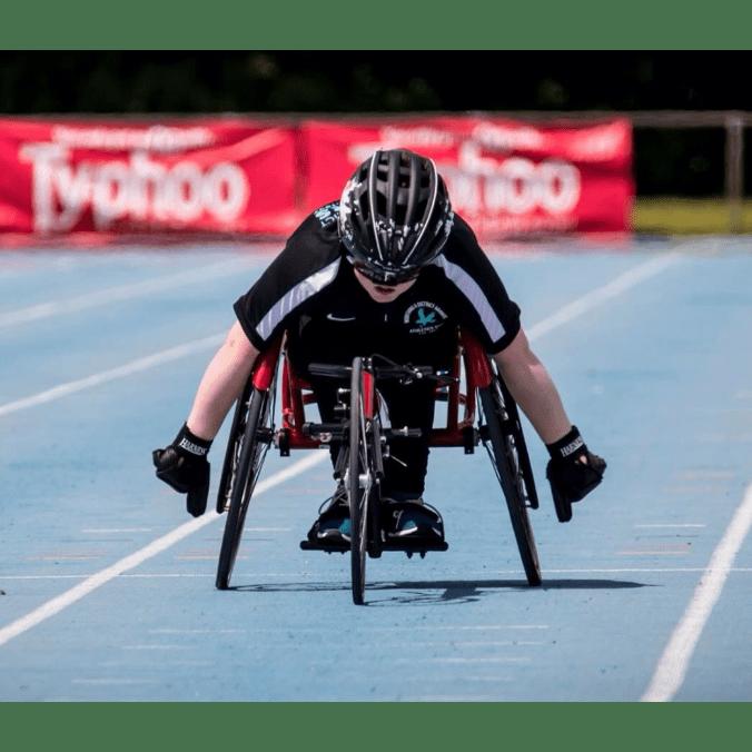 Nathan Freeman Wheelchair Athlete