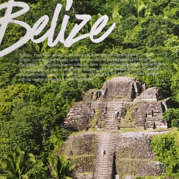 Belize 2021 - Samantha Hamilton