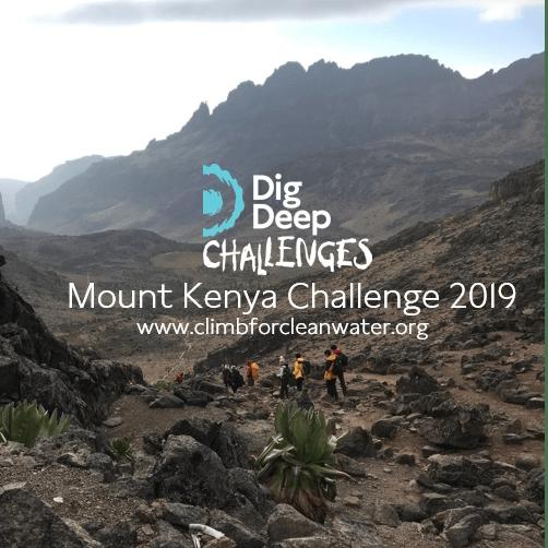 Dig Deep Mount Kenya 2019 - Lydia Passera-Hughes