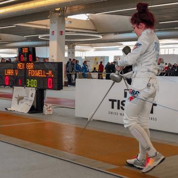 GBR Fencer 2020 - Taylor Foxwell-Moss