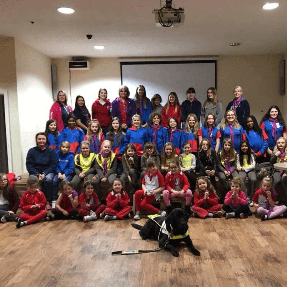 1st Walkern Rainbows, Brownies and Guides