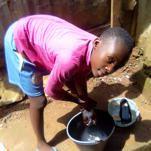 Sponsorship for a child in Cameroon - Tamsin Clover