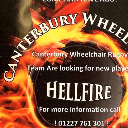 Canterbury Hellfires Wheelchair Rugby Team