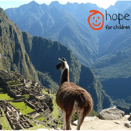 Hope for Children Machu Picchu 2020 - Beth Ferris