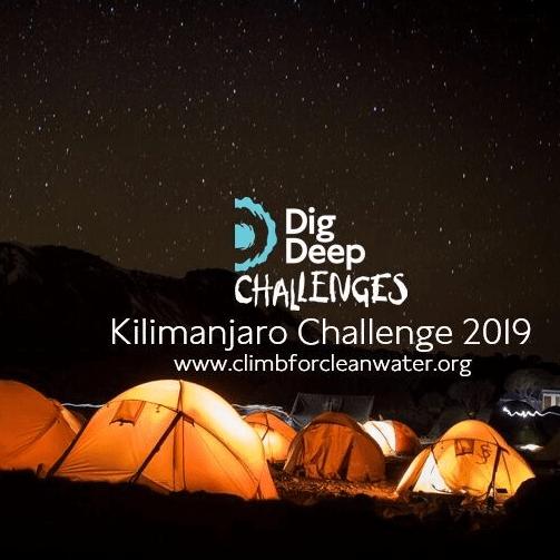 Dig Deep East Africa Kilimanjaro 2019 - Mark Thorburn