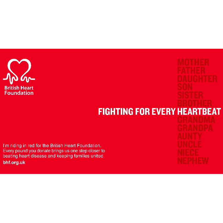Steph Kershaw-Marsh's Prudential Ride London for BHF