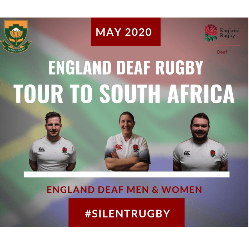 England Deaf Women's Rugby South Africa 2020 - Bethany Cooke
