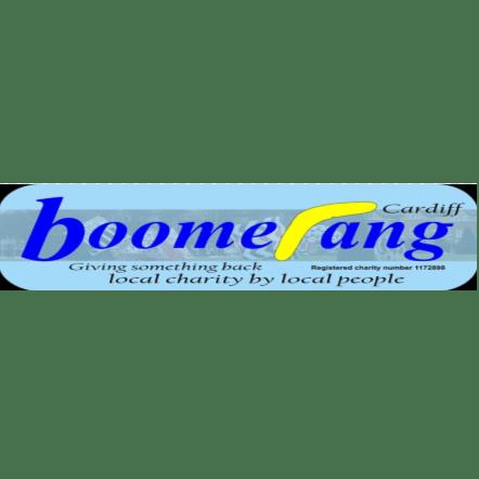 Boomerang Cardiff cause logo