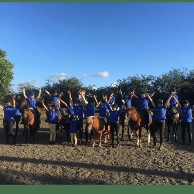 East Cheshire Pony Club Musical Ride Team