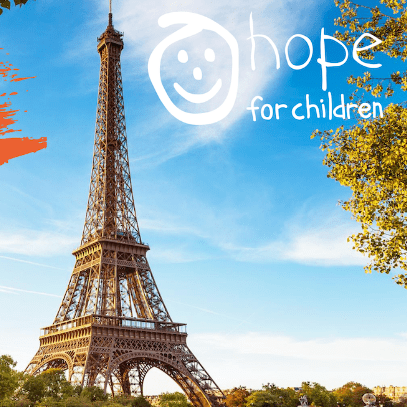 Luke Harris' London to Paris Cycle for Hope for Children