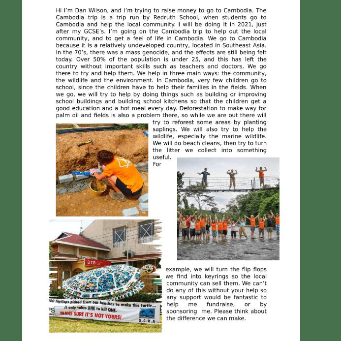 Cambodia 2019 -  Dan Wilson