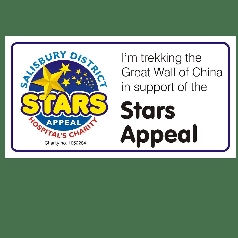 Stars Appeal Great Wall of China 2018 - Karen Fletcher