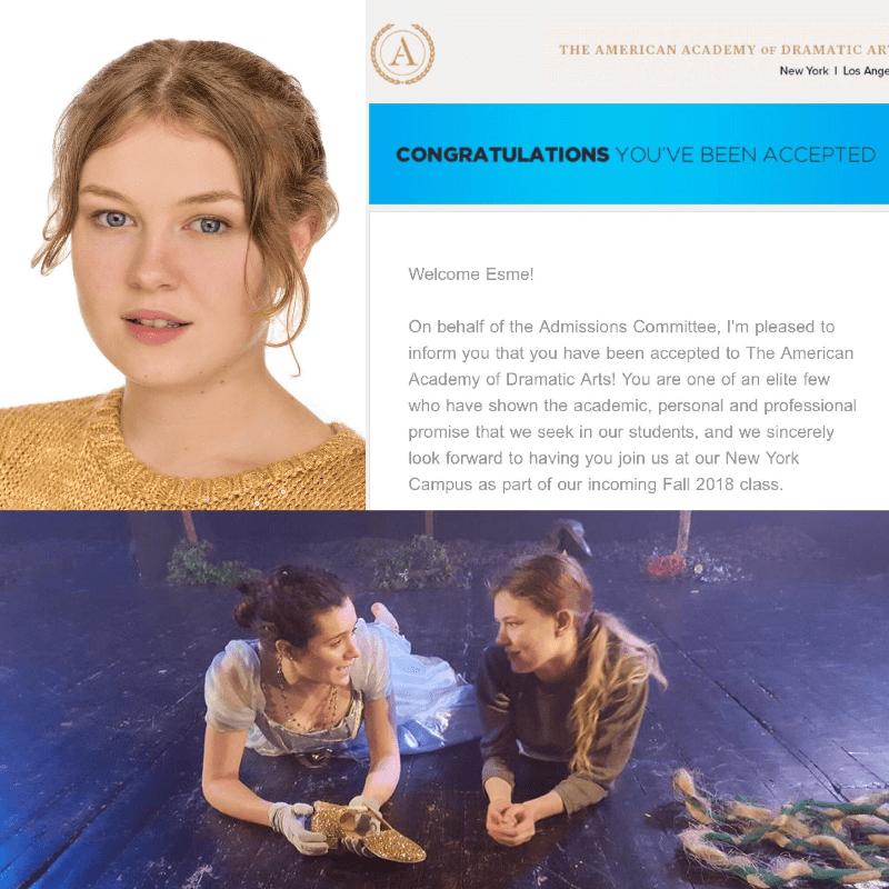 American Academy of Dramatic Arts 2018 - Esme Weiler-Grove