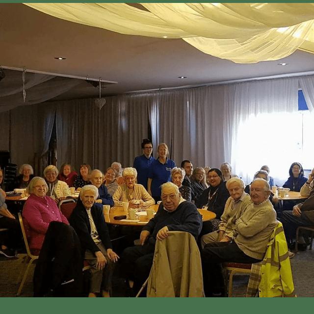 Friendly Faces At The John Atkinson Day centre