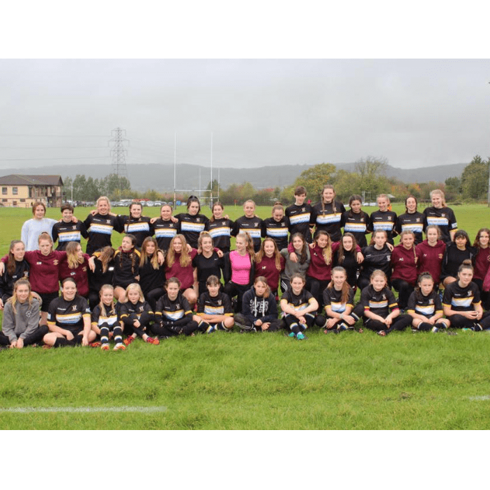 Nailsea and Backwell Girls Rugby teams