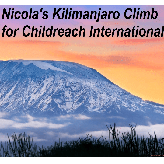 Childreach International Kilimanjaro 2018 - Nicola Brackenbury