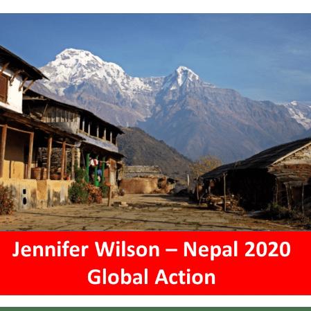 Global Action Nepal 2020 - Jennifer Wilson