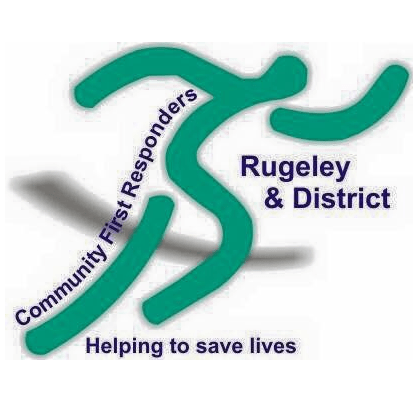 Rugeley & District Community First Responders cause logo