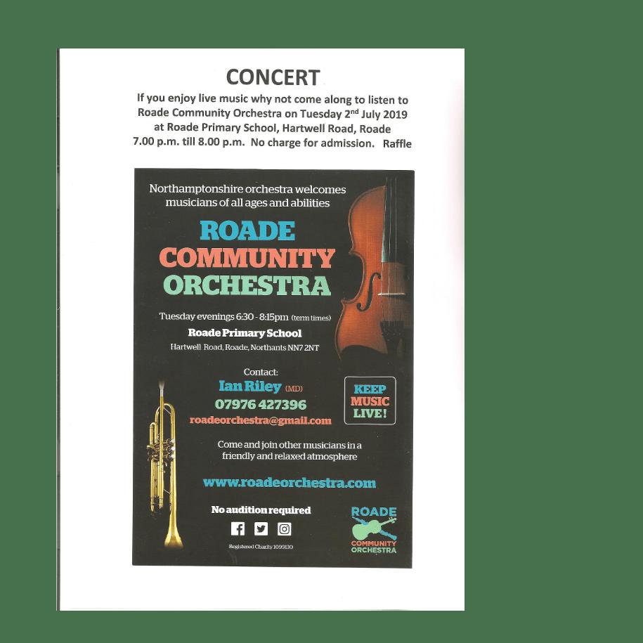 Roade Community Orchestra