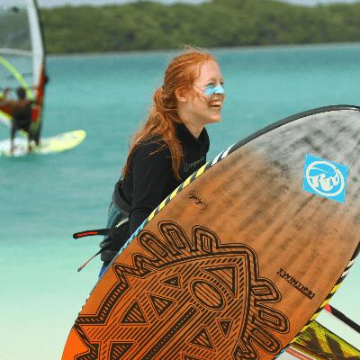 Sarah Jackson Professional Windsurfer