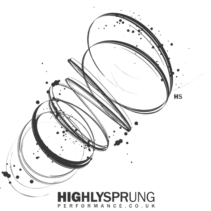 Highly Sprung Performance Company cause logo