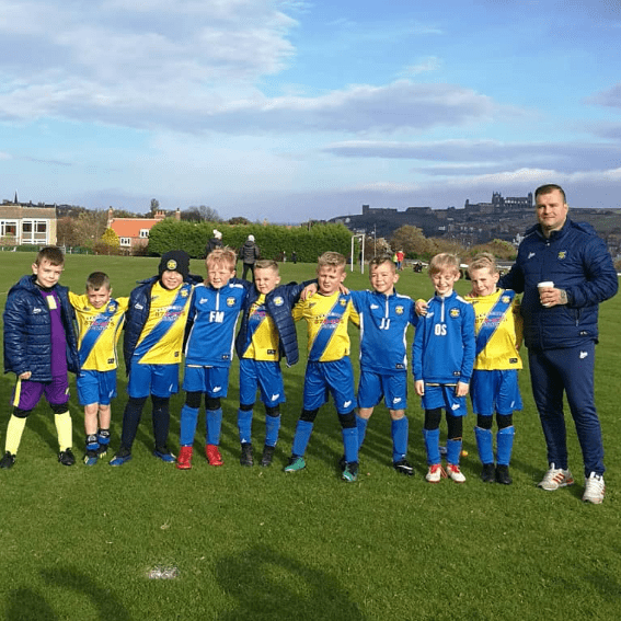 Stockton Town Yellows - Dans team