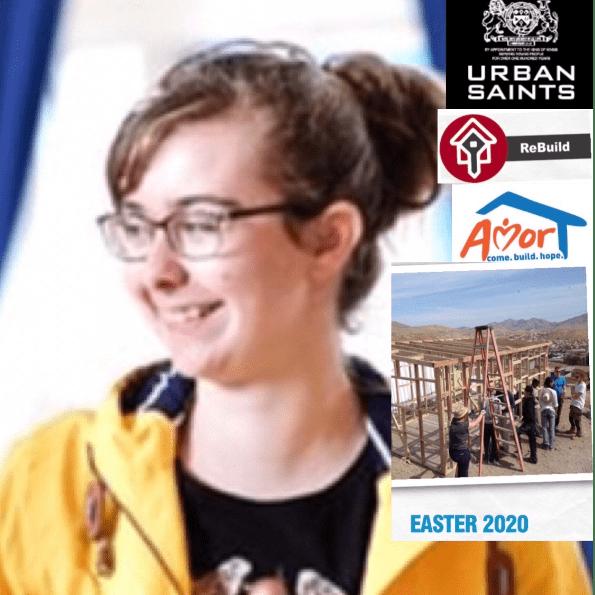 Urban Saints ReBuild Mexico 2020 - Hannah Jones