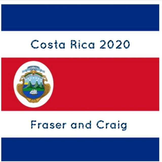 Outlook Expedition Costa Rica 2020 - Fraser and Craig