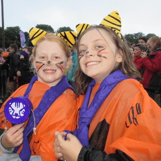 Girlguiding LASER -1st Shepherdswell Guides