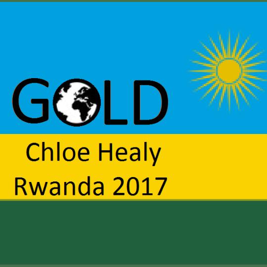 GOLD Rwanda 2017 - Chloe Healy