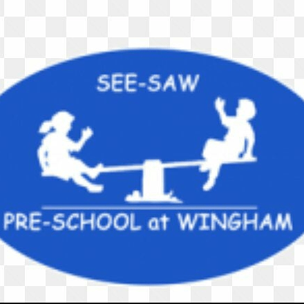 See-Saw Pre-School, Wingham, Kent cause logo