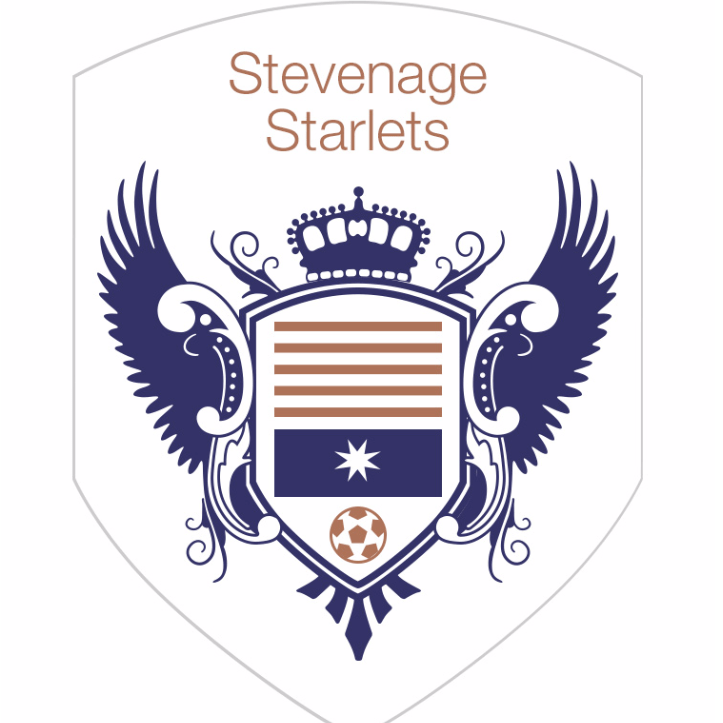 Stevenage Starlets FC cause logo