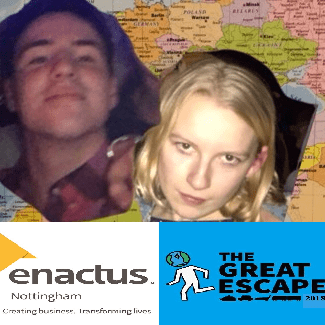 Enactus Nottingham - Eve and Dan do Jailbreak 2018