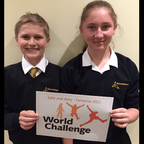 World Challenge Tanzania 2021 - Jake and Amy Mills