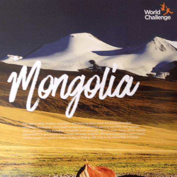 World Challenge Mongolia 2018 - Emily Banks