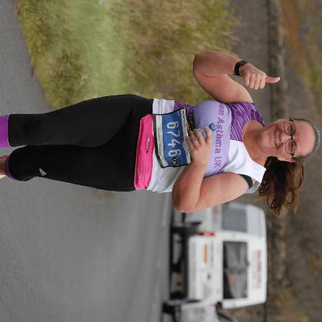 London marathon 2017 For Asthma UK -  Maxine Hanson