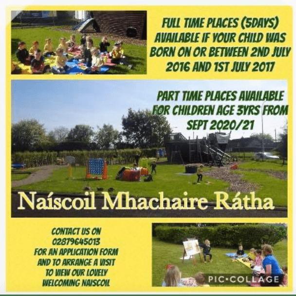 Naíscoil Mhachaire Rátha Pre school