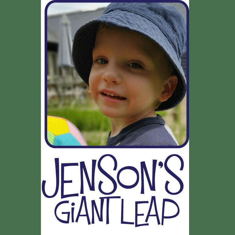 Jenson's Giant Leap - Vicky Nicholls