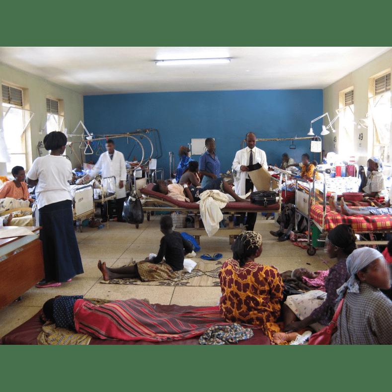 Raising funds for BHFA - Abraham Iyoha