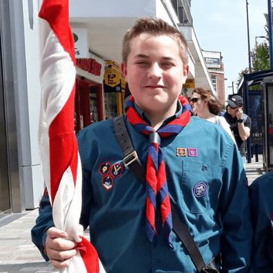 World Scout Jamboree USA 2019 - Nathan Gates cause logo