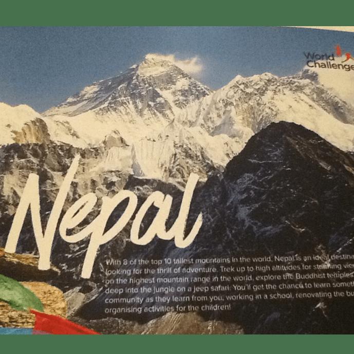 World Challenge Nepal 2017 - Sophie Donnachie