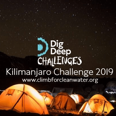 Dig Deep Kilimanjaro 2019 - Zarreena Brown