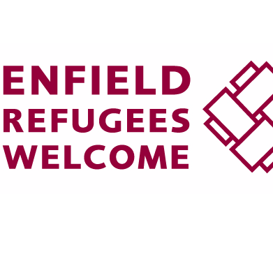 Enfield Refugee Welcome cause logo
