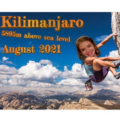 Climbing Mount Kilimanjaro for MRF - 2021 -  Rosie Webster