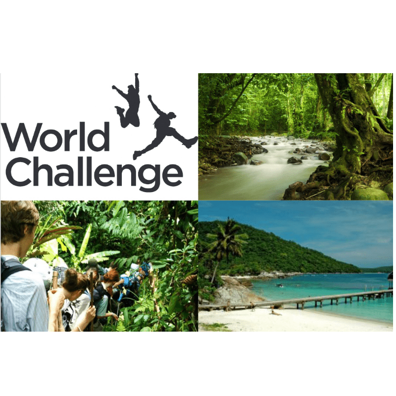 World Challenge Borneo and Malaysia 2019- Amy Snudden